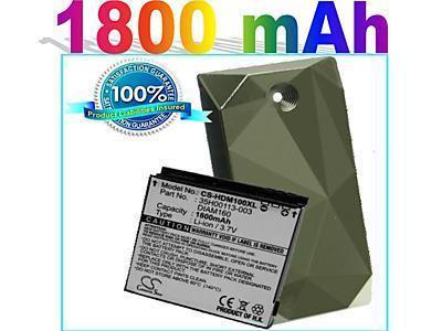 bateria alta duración para o2 xda htc diamond gsm iso rym