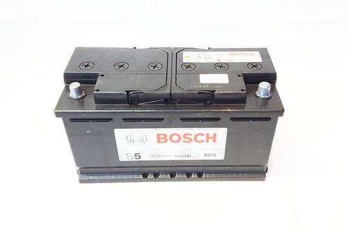 bateria bosch s5 12v 160 amp borne positivo a la derecha