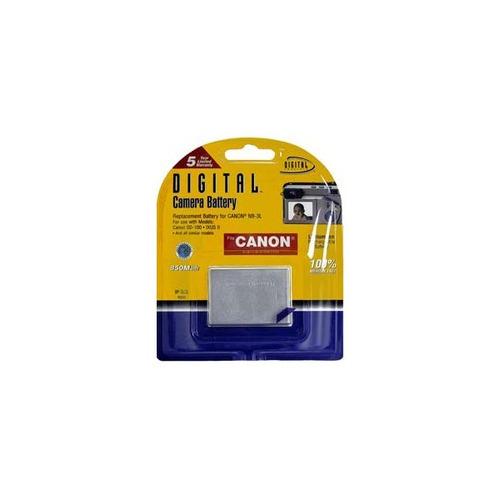 batería compatible canon nb-3l 850mah - lcp