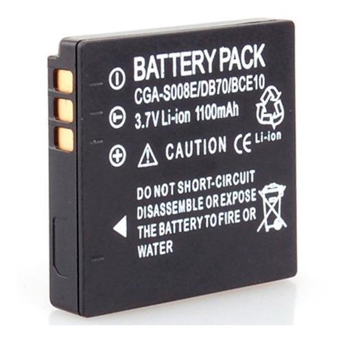 bateria compatible panasonic® lumix dmw-bce10 cga-s008e s008