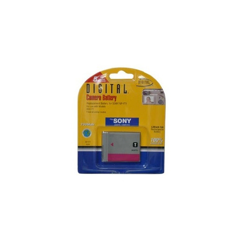 batería compatible sony np-ft1 750mah - lcp