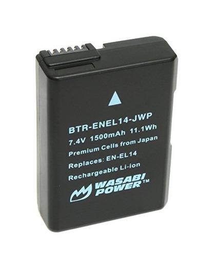 batería de alimentación wasabi (paquete de 2) para nikon