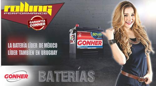 batería gonher g49 160 amper  sprinter, boxer,etc  instalada
