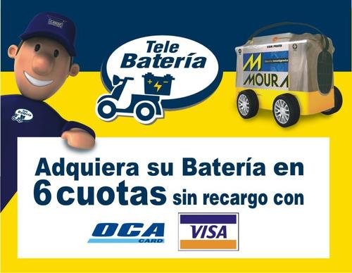 bateria moura 12v 100amp 18 meses de garantia