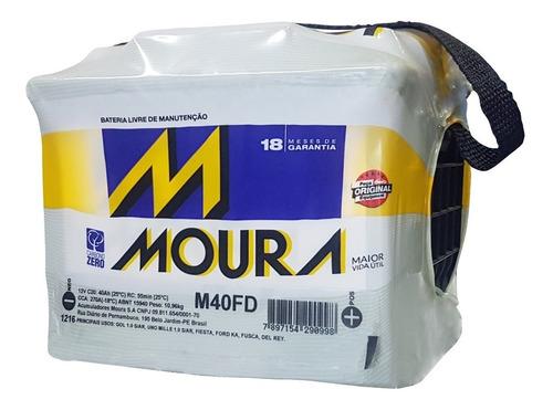 batería moura 70amp m40fd / m40fe + regalo bidart