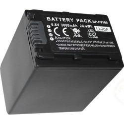 batería np-fv100 np-fv70 fv50 np-fv30 cámara filmadora sony