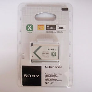bateria original sony np-bx1 type x en blister sellada