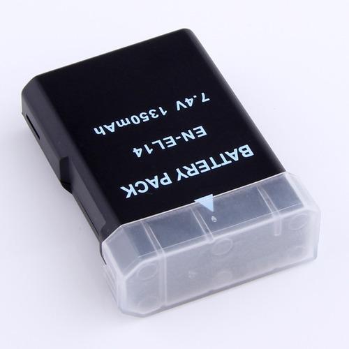 bateria para nikon en-el 14 d5300  d3300 + modelos ph ventas