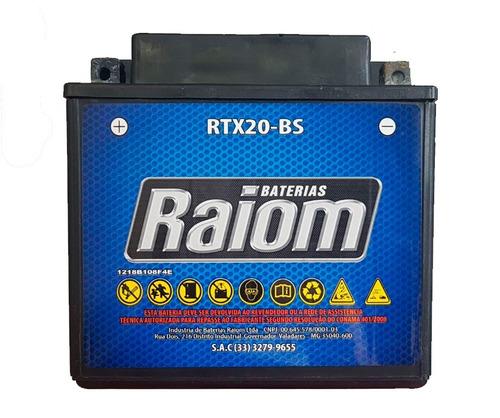 bateria raiom rtx20-bs buell harley honda wet jet indian sos