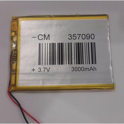 bateria tablet 3000 mah nuevas recien recibidas
