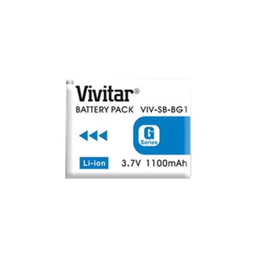 batería vivitar 1100mah compatible sony np-bg1 - lcp