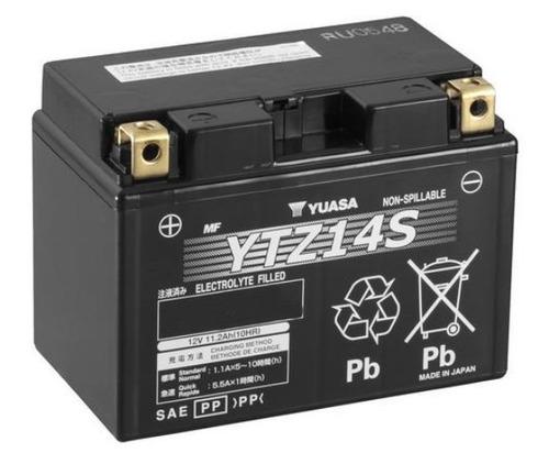 bateria yuasa ytz14s cb1300 vrf1200 f x midnight star 950