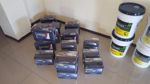 baterías excell para tractores, cosechadoras o autos