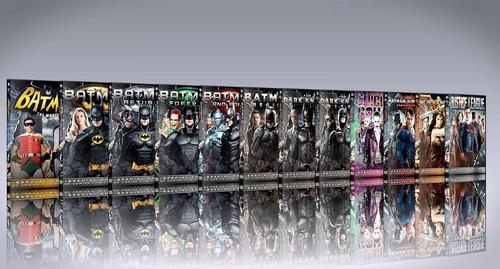 batman colección completa en dvd