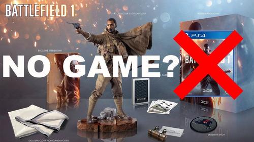 battlefield 1 collector's edition - no incluye juego