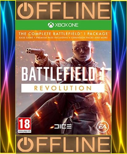 battlefield 1 revolution xbox one offline completo permanent