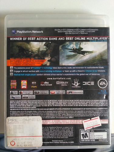 battlefield 3 limited edition ps3