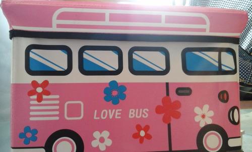 baul c/figuras de bus sumihome