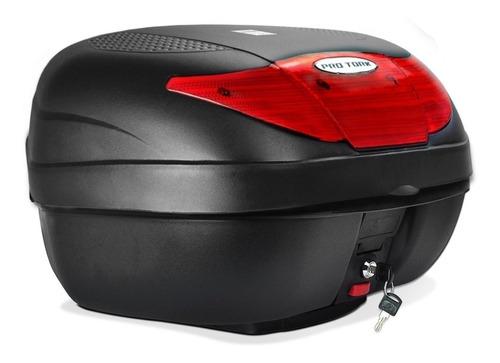 baul porta equipaje grande para moto entran 2 cascos
