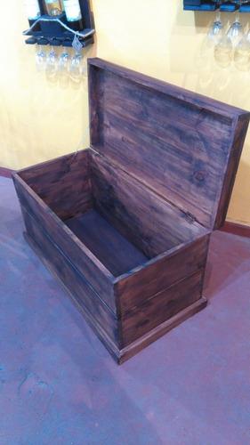 baúl rustico