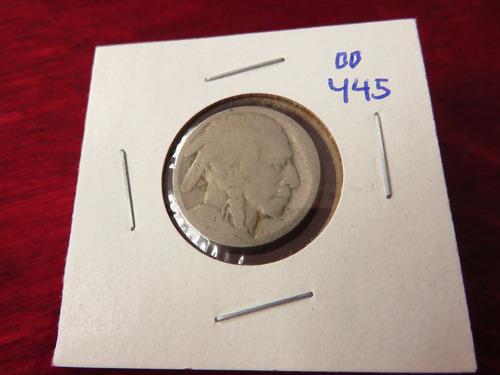 bb#445 usa five cent buffalo indio americano