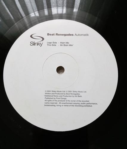 beat renegades - automatik (vinilo 12'' ed. europea 2001)