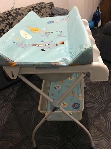 bebé cambiador baño para
