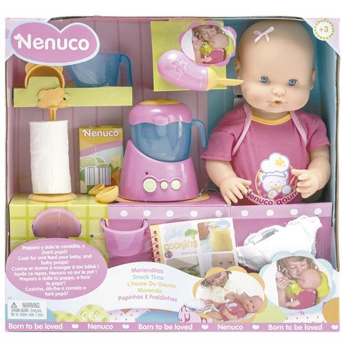 bebe nenuco interactivo  come y hace popo