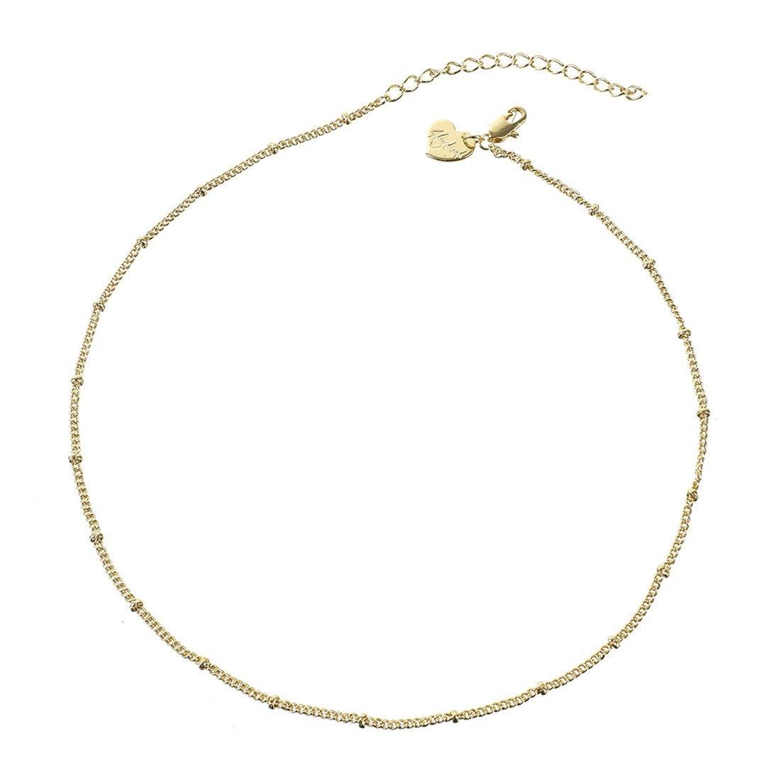 4e7e0f9b9412 befettly collar de gargantilla de oro para mujer hecho a. Cargando zoom.
