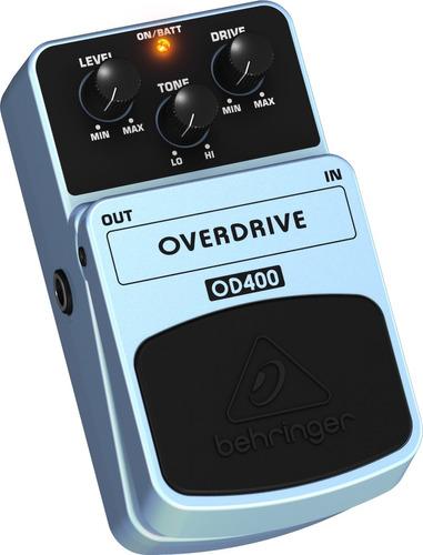behringer od400 pedal overdrive