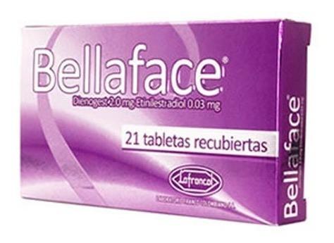 bellaface 21 comprimidos