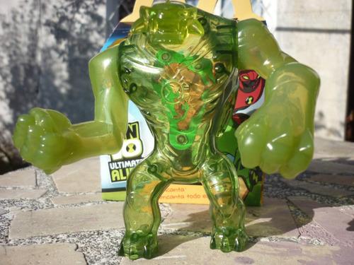 ben 10 ultimate alien humungosaurio supremo mc donalds nuevo