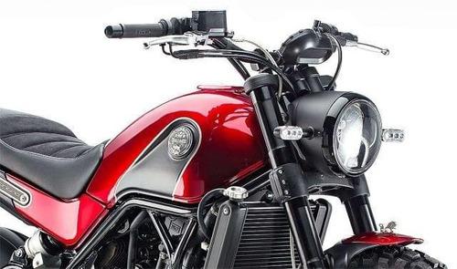 benelli leoncino 500 scrambler 36 cuotas tasa 0 delcar motos