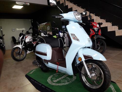 benelli seta 125 scooter 0km  promo tarjeta
