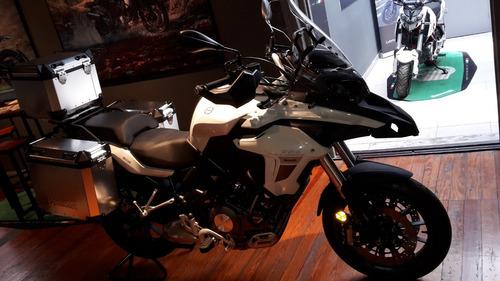 benelli touring doble propósito trk 502 abs delcar motos