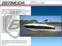 bermuda cuddy 595 c/150hp y trailer
