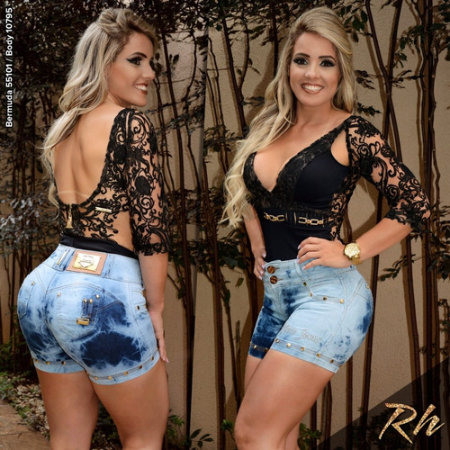 bermuda fem jeans