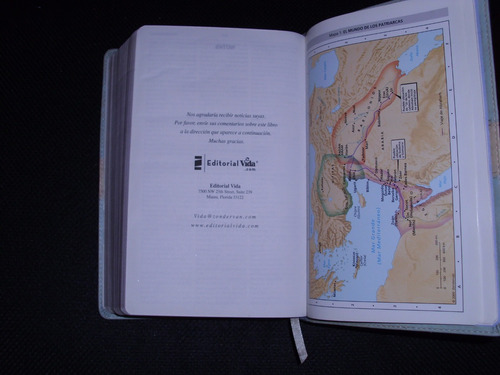 biblia de estudio nvi dos tonos italiana edit.vida impeca