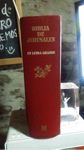biblia de jerusalén en letra grande 2700 páginas