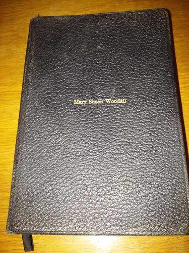 biblia muy antigua en ingles ,new york año 1934