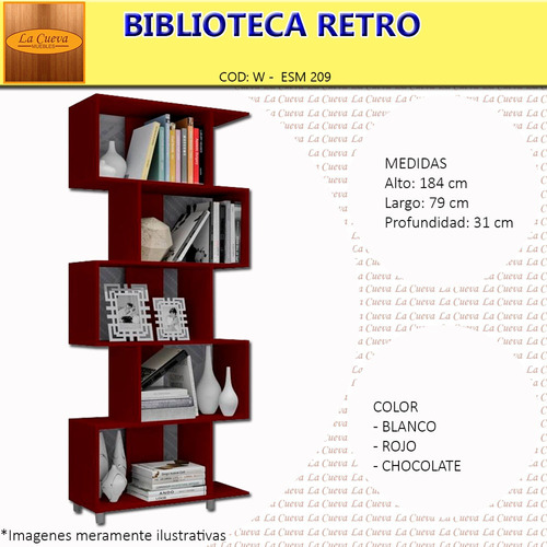 biblioteca estanteria mueble