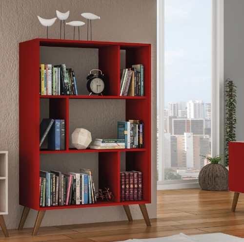 Biblioteca Estanterias Linea Retro Living Comedor Ro Rt3015 ...