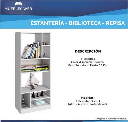 biblioteca muebles estantería