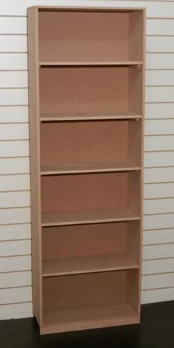 biblioteca nº9 | estanteria | mdf natural | plakards