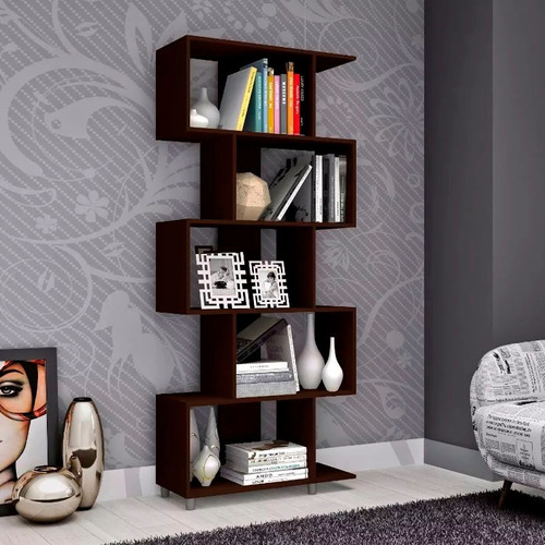 biblioteca retro - estanteria - dormitorio - mueble - lcm