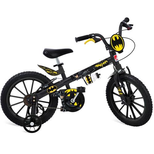 bicicleta aro 16 - dc comics - liga da justiça - batman - b