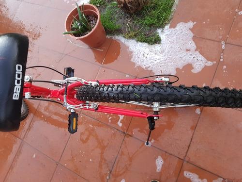 bicicleta baccio en excelente estado