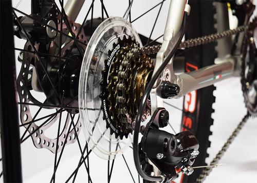 bicicleta bianchi aggressor aluminio rodado 26