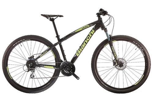 bicicleta bianchi duel 29.0 24 speed aluminio acera / altus