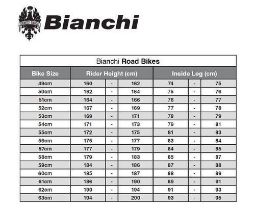 bicicleta bianchi impulso dama bianca 105 11 speed